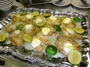 Pan Sauteed Grouper with Lemon Majoram Butter