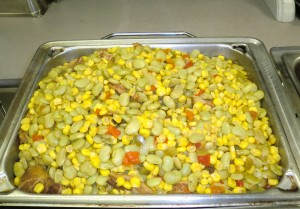 Corn and Butterbean Succotash