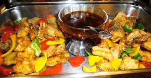 Stewed Cod Fish with Sauce